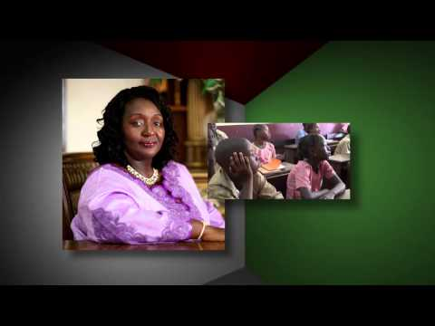 Ebola PSA with First Lady of Sierra Leone, Sia Nyama Koroma