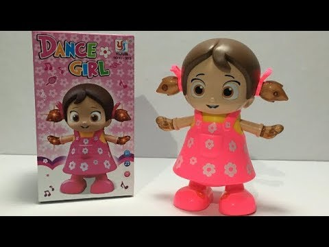 Dance Girl Toy with Light \u0026 Music