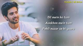 DIL MEIN HO TUM FULL SONG LYRICS - Cheat India | Armaan Malik