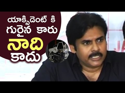 Pawan Kalyan Reacts On Minister Narayana Son Nishith Accident | It Is Not My Car | TFPC