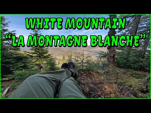 Hiking on the white mountain (montagne blanche)