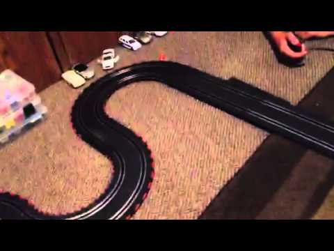 Carrera slot car racing 1.43 scale trying new cars