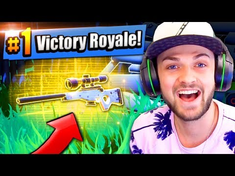 Thumbnail: RAREST SNIPER IN THE GAME - #1 FINISH! - Fortnite: Battle Royale