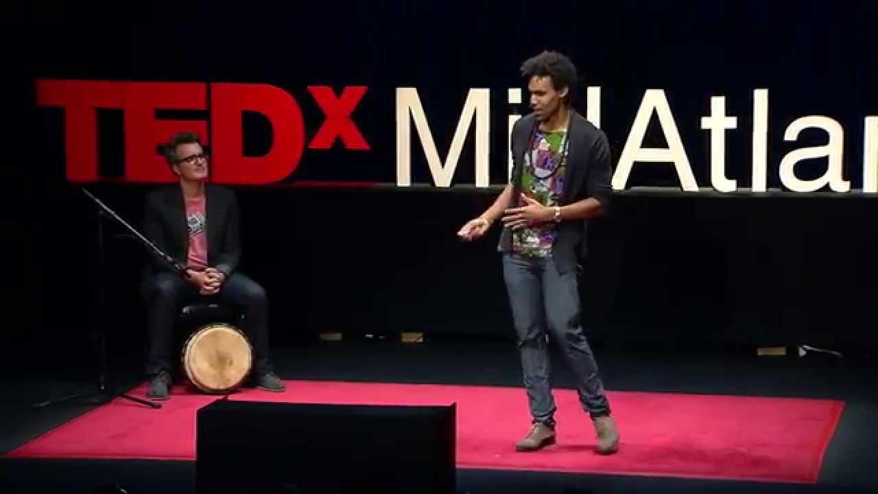 When art and activism make LOVE -- a global beat revolution: Pierce Freelon at TEDxMidAtlantic