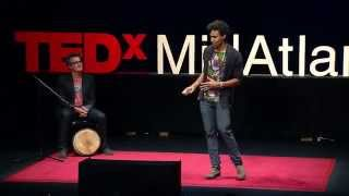 When art and activism make LOVE -- a global beat revolution: Pierce Freelon at TEDxMidAtlantic