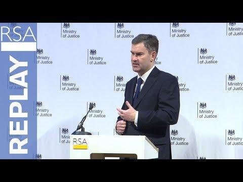 Keynote Address | Rt Hon David Gauke MP | RSA Replay