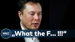 CORONA-FASCHISMUS: Warum Tesla-Boss Elon Musk mal wieder richtig ausrastet