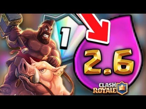 ¡¡ EL MAZO MAS RÁPIDO DEL TOP 1 DEL MUNDO !! - (2.6) - ARENA 8, 9, 10 & 11 | Clash Royale [XHEO]