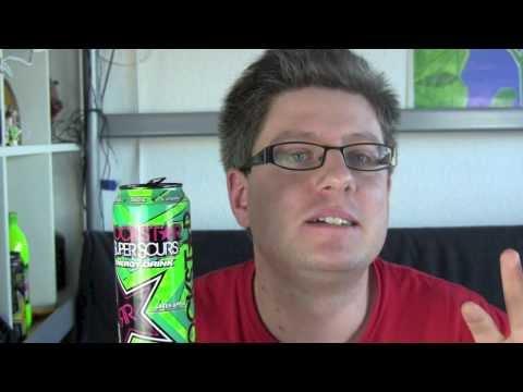 Rockstar SuperSours Green Apple Energy Drink Test