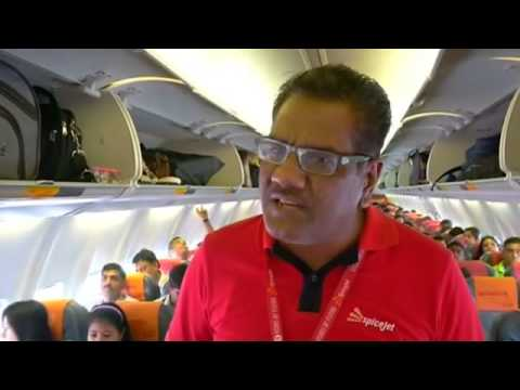 SpiceJet: Indian budget airliner offers yoga 35,000ft in the air