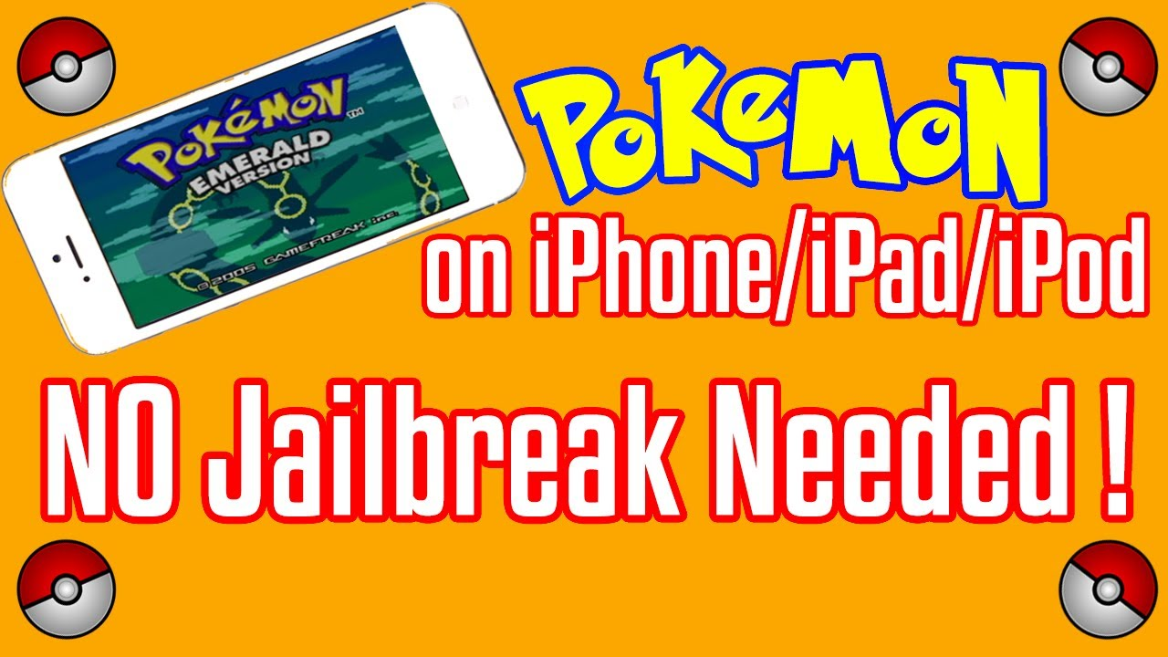 how to play pokemon on iphone no jailbeak needed play on your iphone ipod 2429