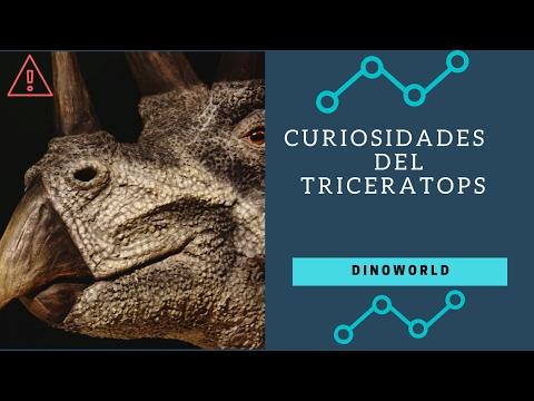 8 Curiosidades Del Triceratops | DinoWorld |