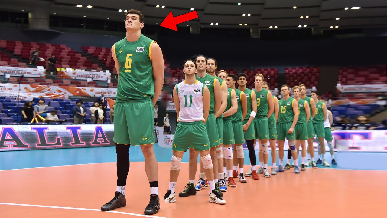 HE IS NOT HUMAN !!! Spike: 370cm | Height: 212cm Volleyball Giant Thomas Edgar (HD)