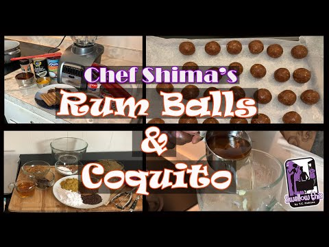 Rum Balls & Coquito