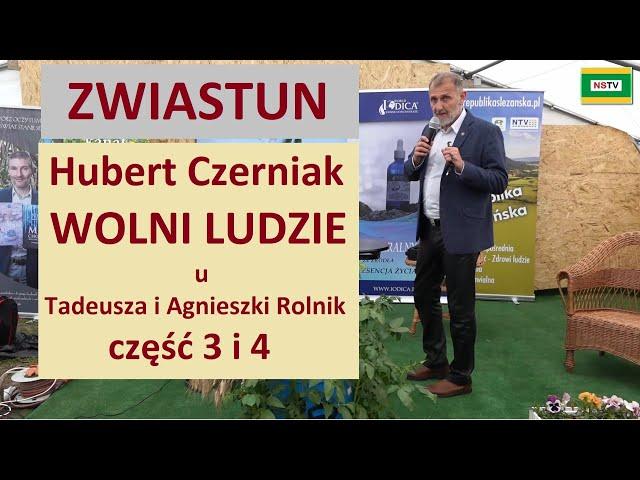WOLNI LUDZIE - ZWIASTUN Hubert Czerniak część 3 i 4  ROLNIK 2021