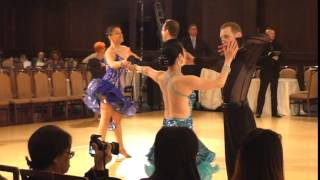 Ballroom Pro-Am Latin Silver 3-Dance: ChaCha, Rumba, Samba. 2014 Maple Leaf Classic.