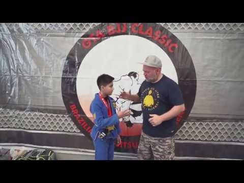 2019 GTA Classic Kids Jiu-Jitsu Tournament - Zain Highlights