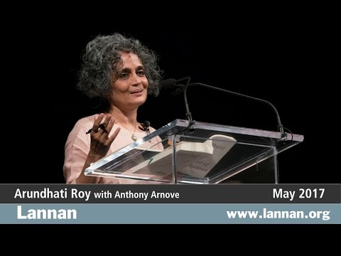 Arundhati Roy with Anthony Arnove, Talk, 3 May 2017