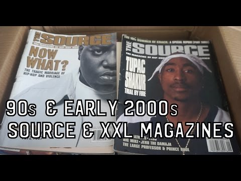 90S & EARLY 2000S SOURCE & XXL MAGAZINE COLLECTION (RARE)