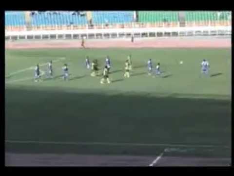 V club vs Don Bosco 3ème but de l'AS V club marqué par Tady ETEKIAMA SUR Penalty