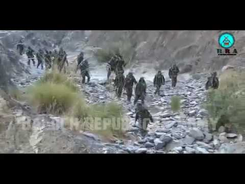 Balochistan New Video Of Baloch Republican Army Commondos