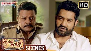 Jr ntr strong reply to sai kumar | janatha garage telugu movie scenes | mohanlal | samantha