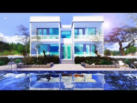 Floating Tubes House Build - The Sims 4 thumbnail