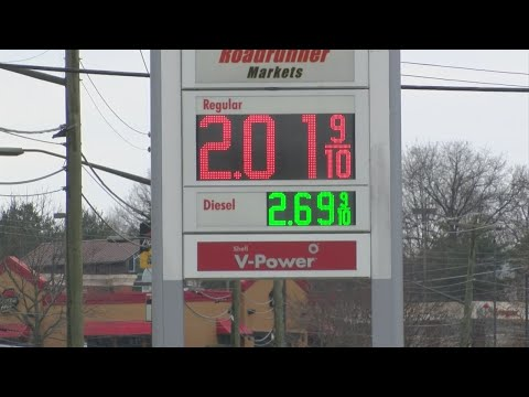AAA: Gas prices rise slightly; Johnson City among highest in state