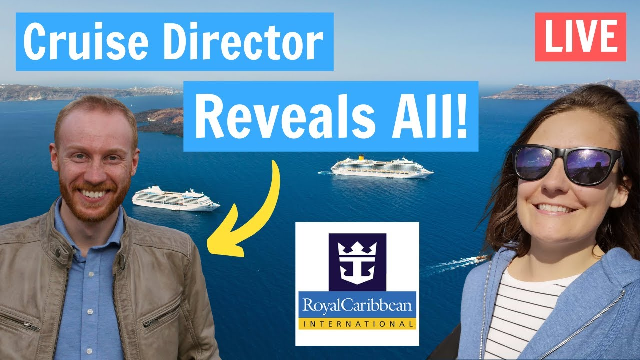 Cruise Director Q&A - Live with Emma Cruises