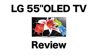 "LG 55EC9300 OLED TV Review.  OLED 1080P 55"" vs LCD 4K 55"""