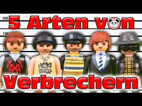 ⭕ PLAYMOBIL POLIZEI - 5 Arten Von Verbrechern - Playmobil Film