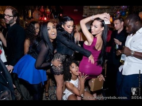 Misty Stone Parties with Mia Isabella & Friends on her Birthday in Hollywood
