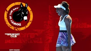 doug adler s has poor choice of words when commenting on venus williams donkey of the day