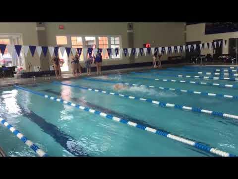 Men's 200 Medley Relay - Illinois Quad Meet 2017