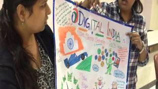 digital india poster making event iba gr noida