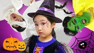 Boram and Halloween Party and Makeup Contest