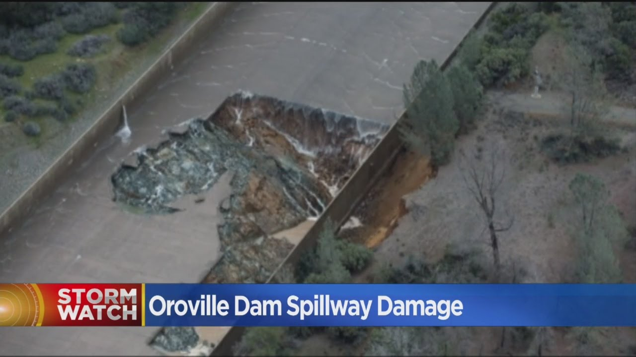 Hole In Oroville Dam Spillway Grows As Officials Plan Next Move