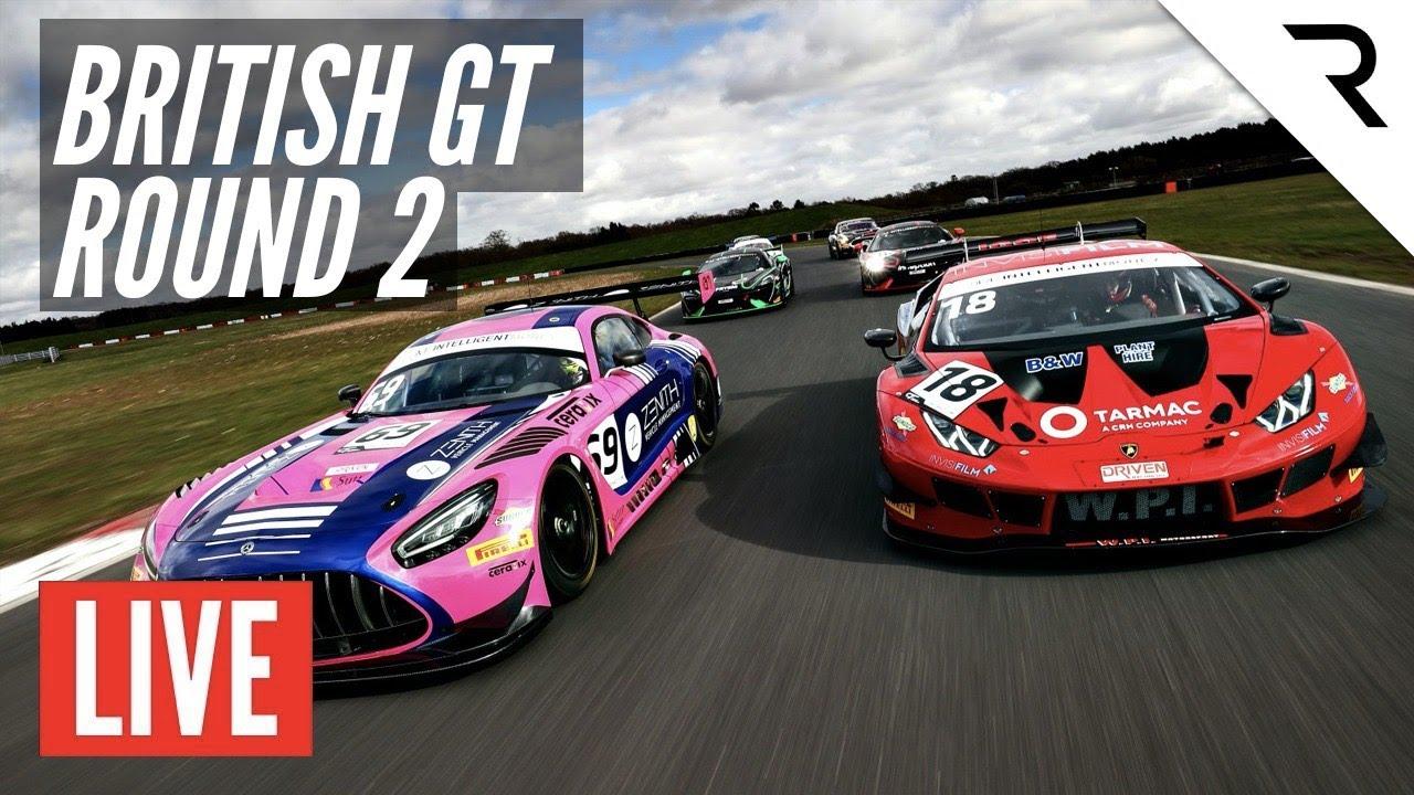 British GT 2020 - LIVE - Round 2 - OULTON PARK