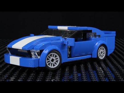 Как сделать из лего форд мустанг
