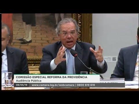 Comissão Especial da Reforma da Previdência - Ministro Paulo Guedes - 08/05/2019 - 17:30