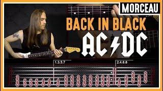 Cours De Guitare : Apprendre Back In Black D'ac/dc