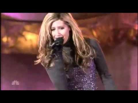 Ashley Tisdale - Last Christmas LIVE at Rockefeller Center 2007