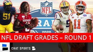 2020 NFL Draft Grades: Biggest Winners & Losers From The First Round