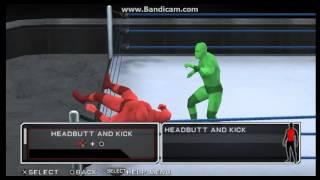 WWE SVR 11 Shinsuke Nakamura Moveset