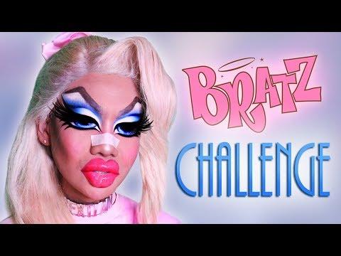 Doll Repainter Tries The BRATZ CHALLENGE! 👄 💕