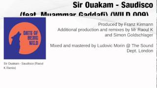 Sir Ouakam - Saudisco (feat. Muammar Gaddafi) WILD 009