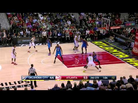 #6#NBA 2015-2016  30.11.2015 Oklahoma City Thunder vs. Atlanta Hawks