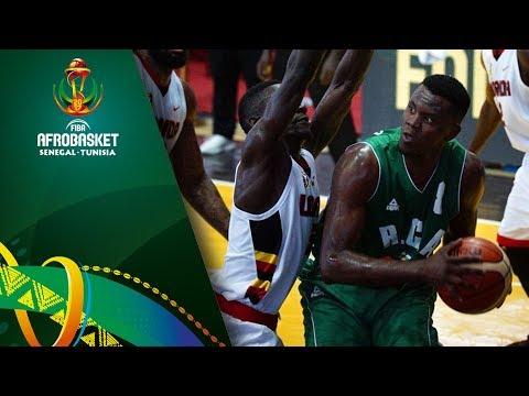 Uganda v Central African Republic - Highlights - FIBA AfroBasket 2017