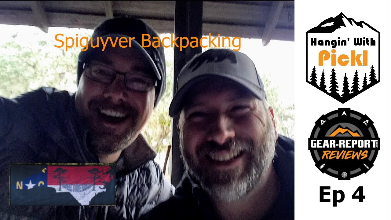 Camping Chat - Hammock Hangin' With Pickl - Mark Orton - Spiguyver Backpacking - Episode 4