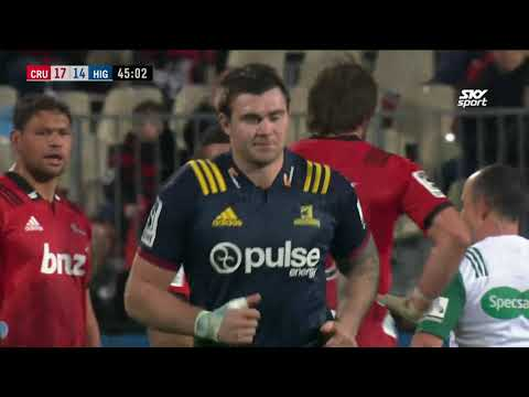 QUARTERS: Crusaders v Highlanders, Orangetheory Stadiu, Christchurch